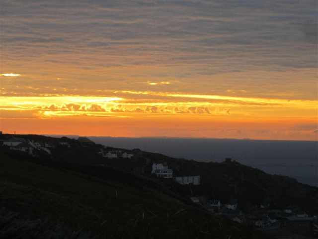 Sunset at Sennen Cottage