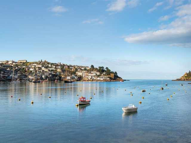 Fowey is close by