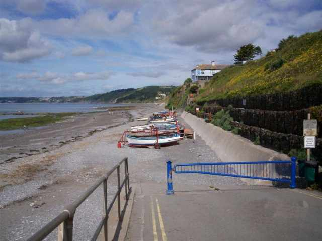 Downderry slipway
