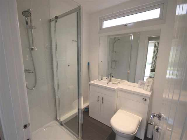 Smart shower room WC