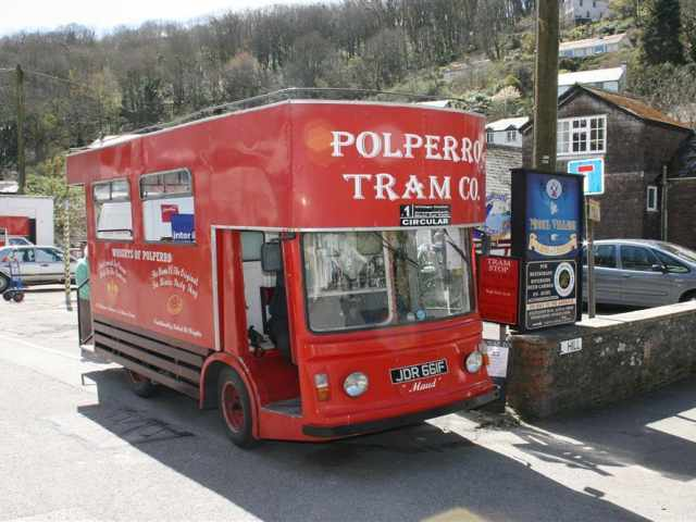 Village transport in Polperro