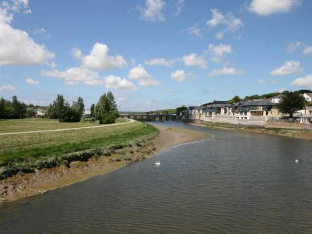 Wadebridge and Camel Trail 8 miles away