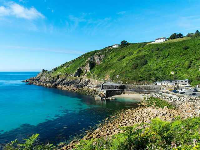 Less than a mile to Lamorna Cove
