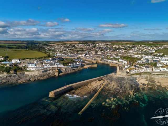 Porthleven - Aerial Cornwall