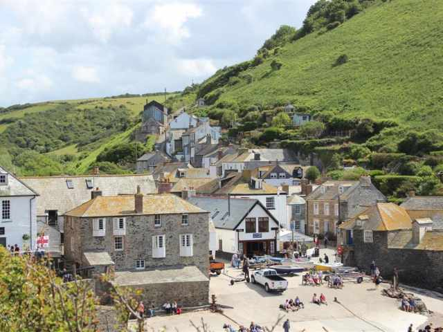 Port Isaac village