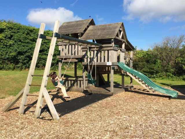 Childrens play area at Penpillick