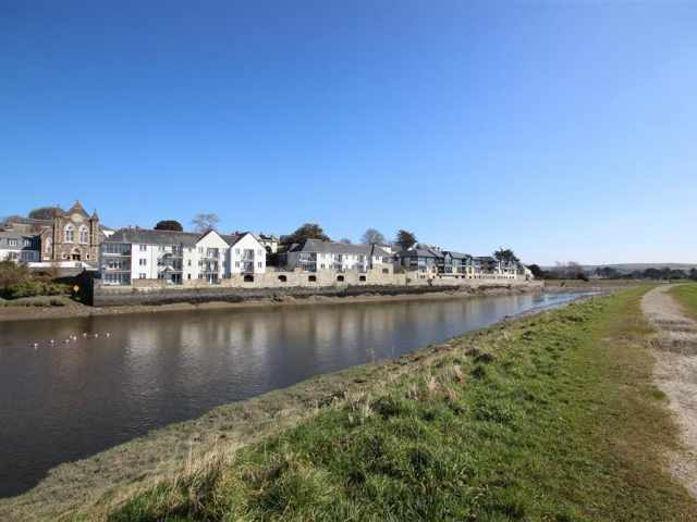 River Camel in Wadebridge