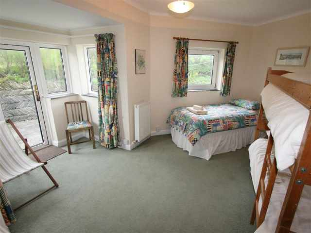 Ground floor triple bedroom