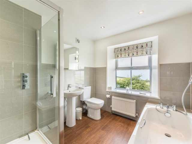 Well-appointed family bathroom