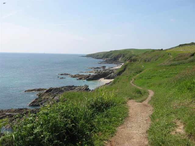 Portscatho coast path