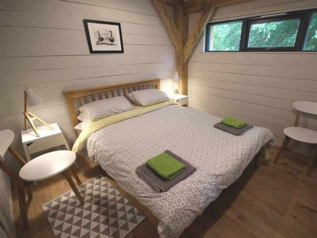 Double bedroom in the Cabin