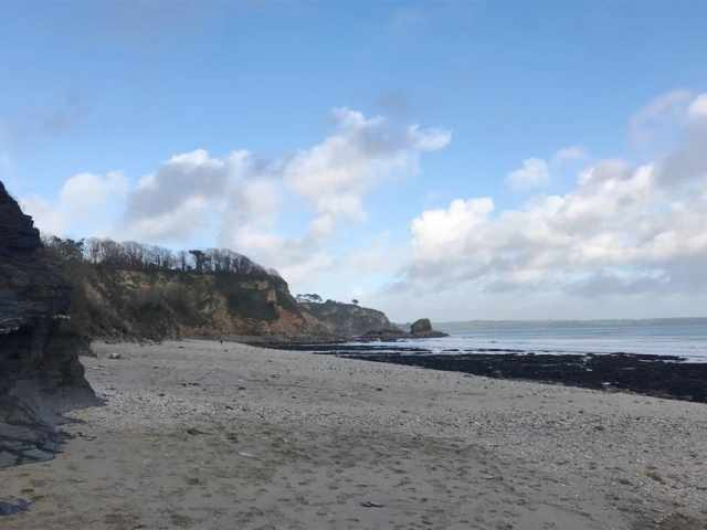 Duporth beach