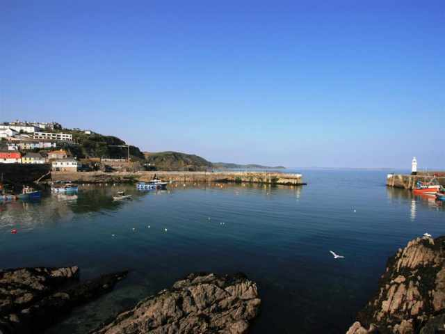 Mevagissey Harbour only 3 miles away