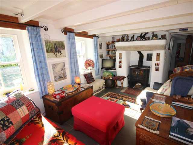 Living room at Bests Cottage