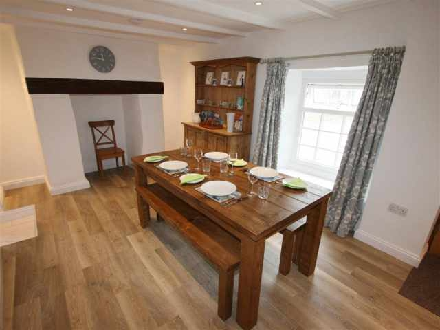 Dining area with welsh dresser